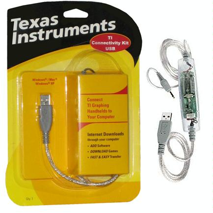 TI Graphlink Cable for TI-83+, TI-89, Voyage 200